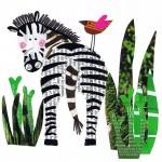 Zの発音を学習してみよう!zebra、zoo、zoneなどの例があるよ